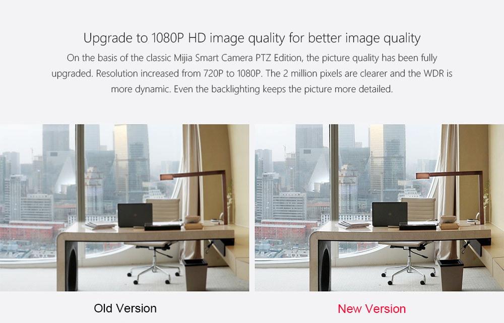 xiaomi xiaobai imi 1080p camera pan-tilt version