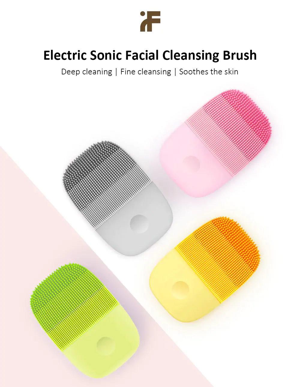 Xiaomi InFace cepillo de limpieza facial sónico - limpieza profunda, calmante la piel Xiaomi-inFace-Small-Cleansing-Instrument-1