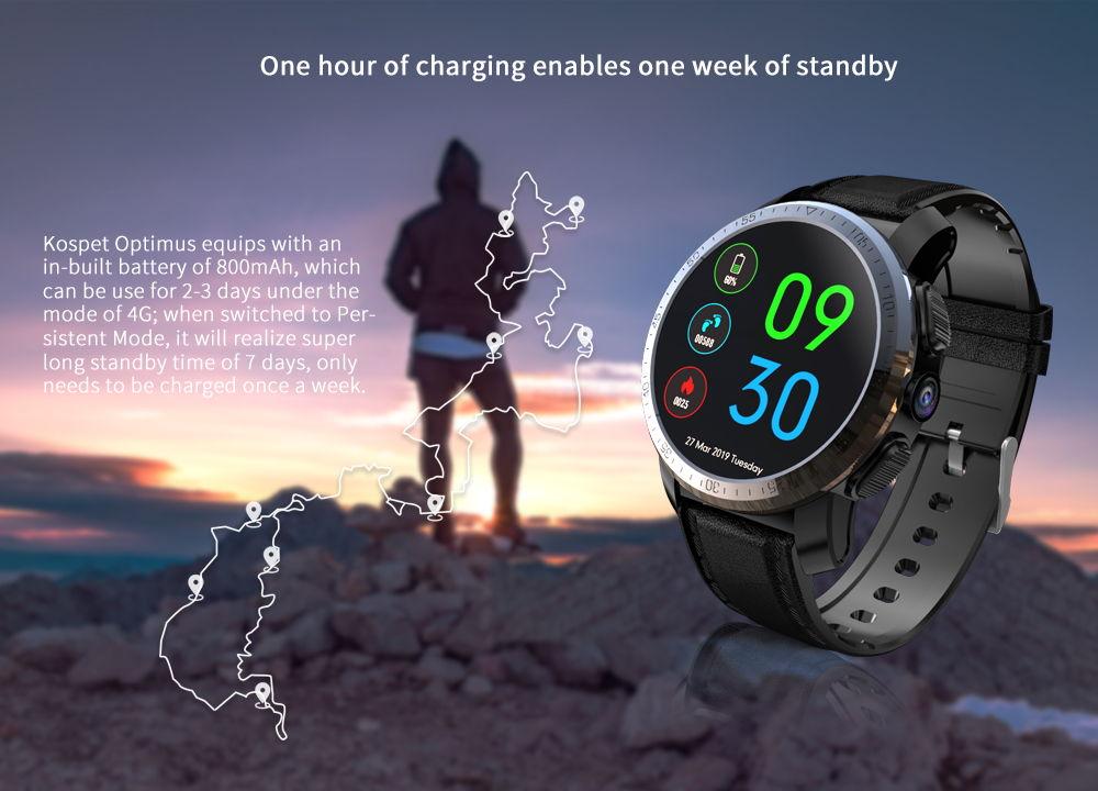 new kospet optimus 4g smartwatch