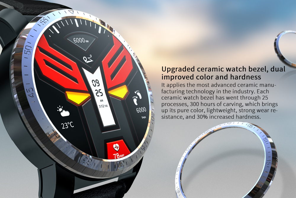 2019 kospet optimus 4g smartwatch