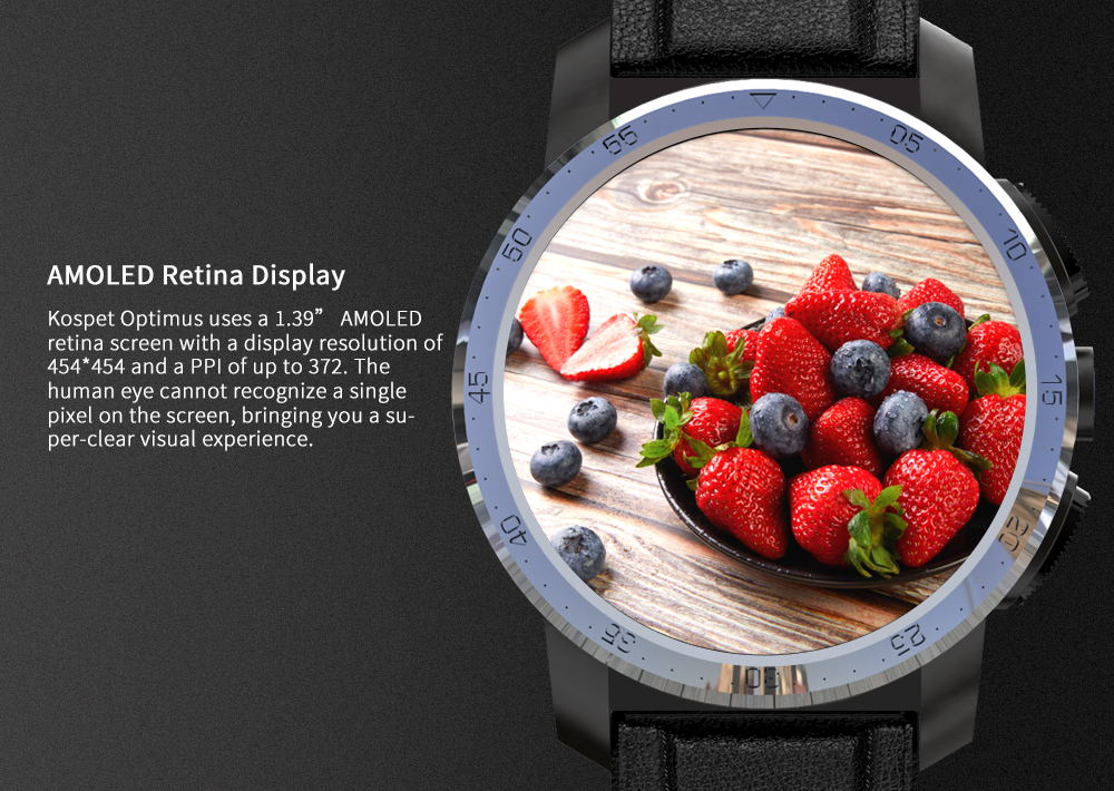 new kospet optimus 4g smartwatch phone