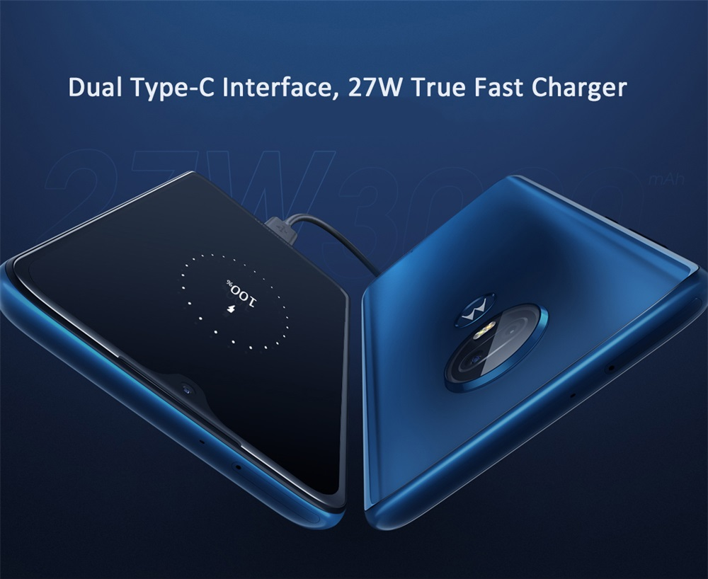 new motorola g7 plus 4g smartphone 6gb/128gb