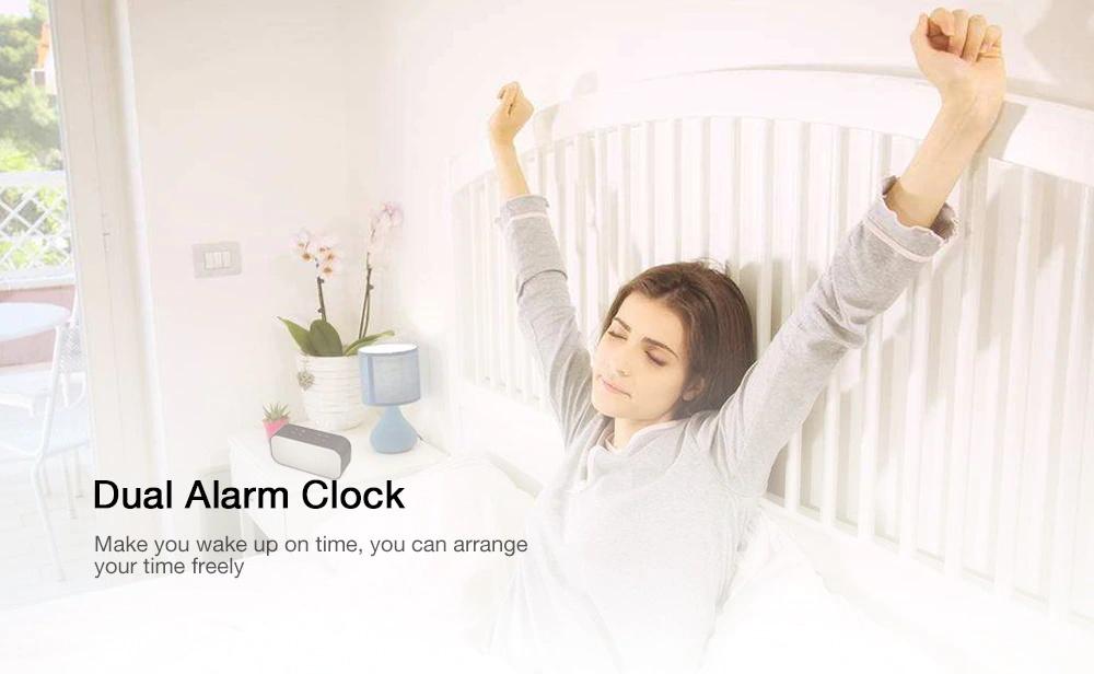 aec bt-501 alarm clock bluetooth speaker for sale