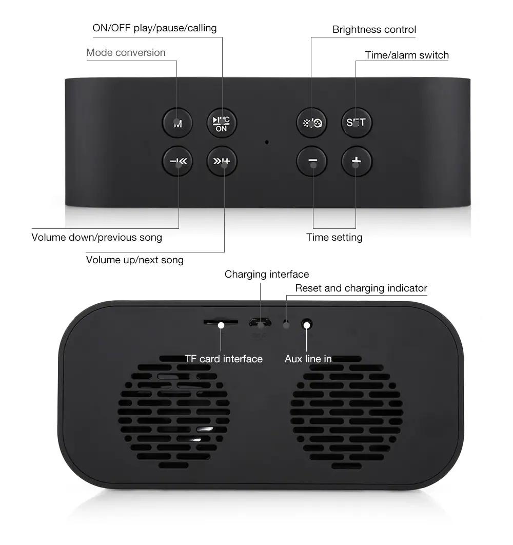 new aec bt-501 wireless bluetooth speaker