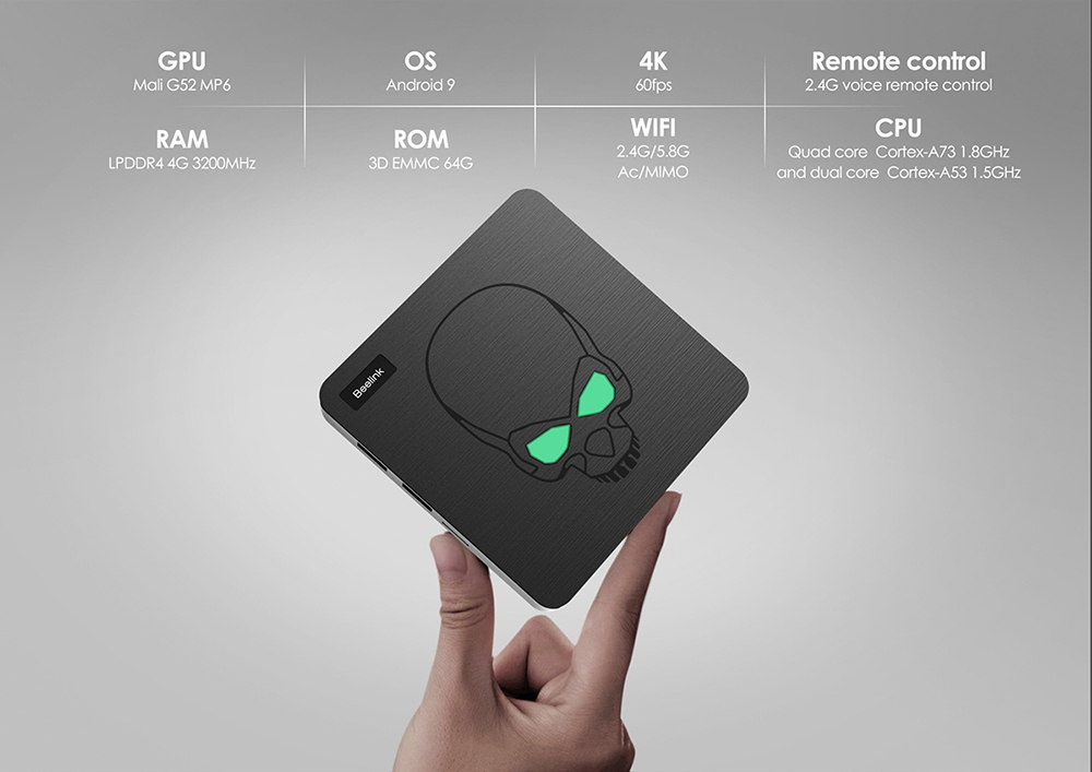 new beelink gt-king tv box