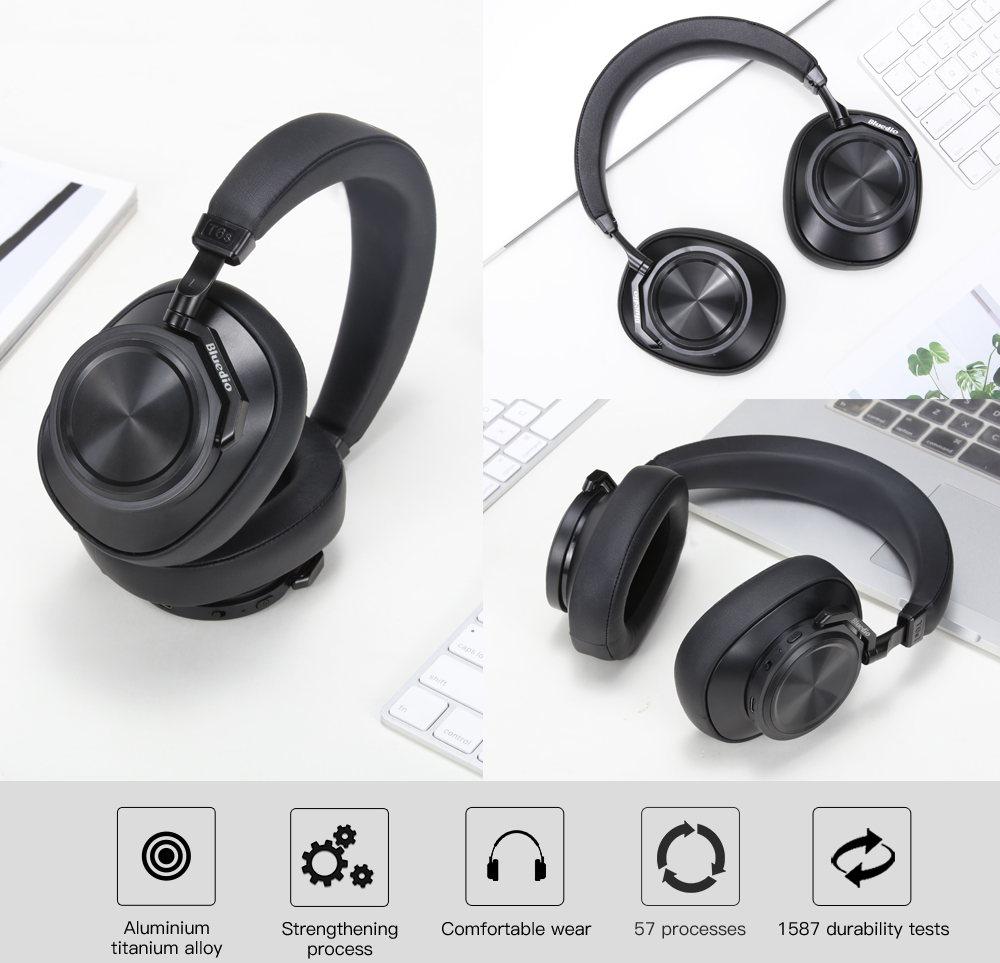 bluedio t6s anc headphone review