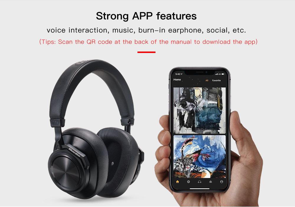 bluedio t6s headphone