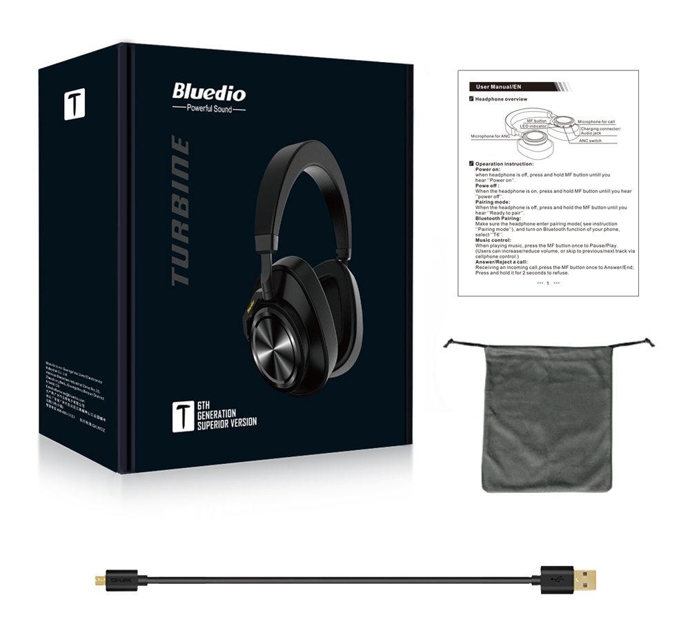 new bluedio t6s headphone