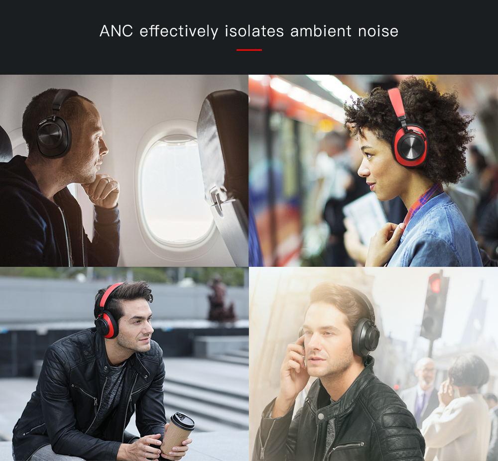 best bluedio t6s anc headphone
