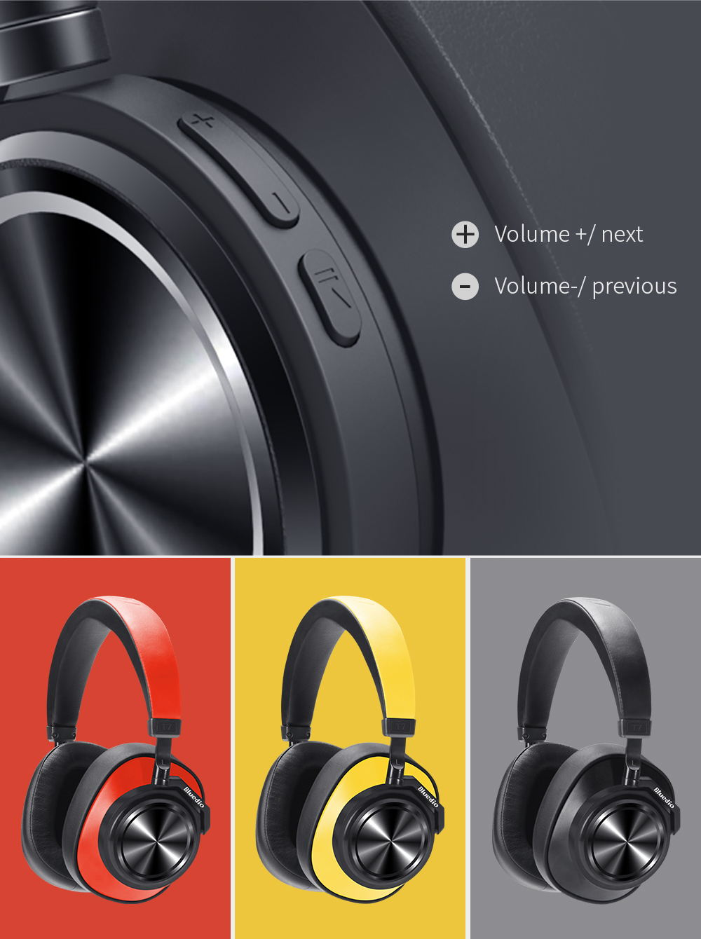 new bluedio t7 user-defined headphone