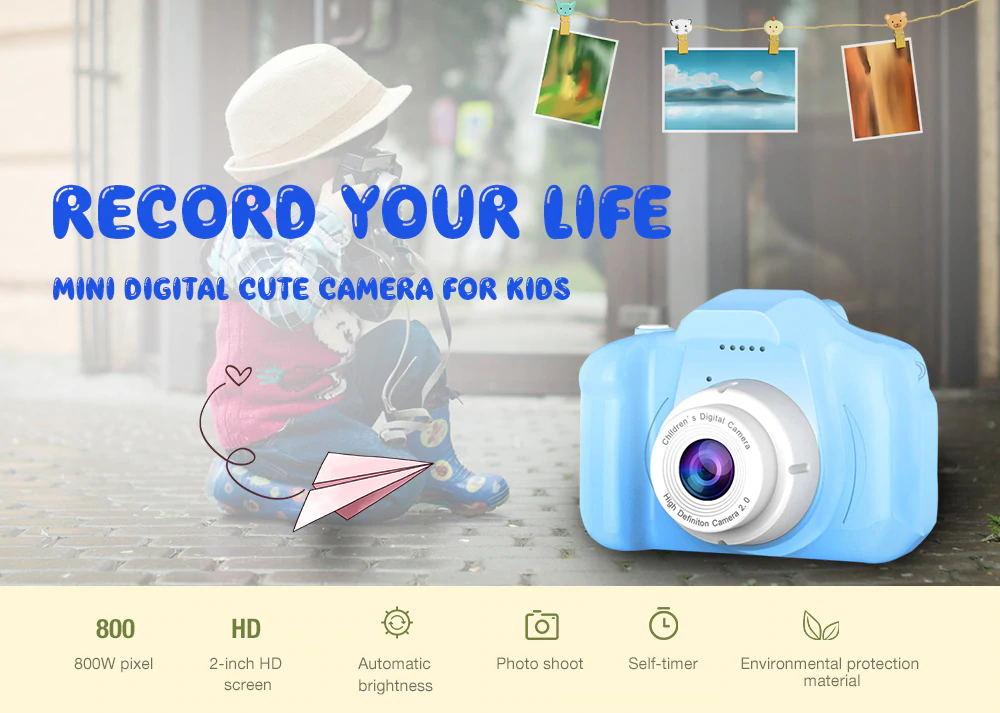 children mini cute digital camera