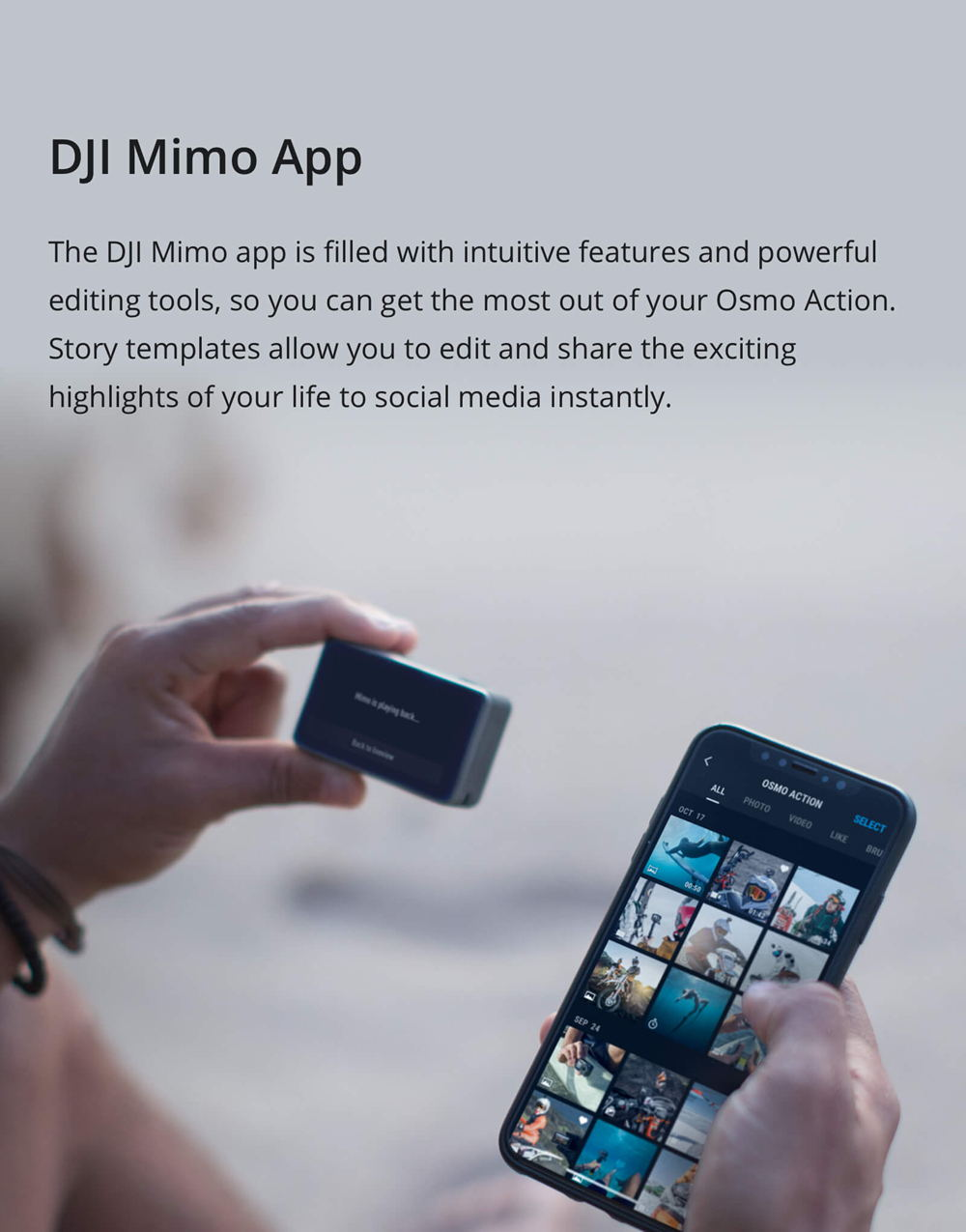 dji osmo action for sale