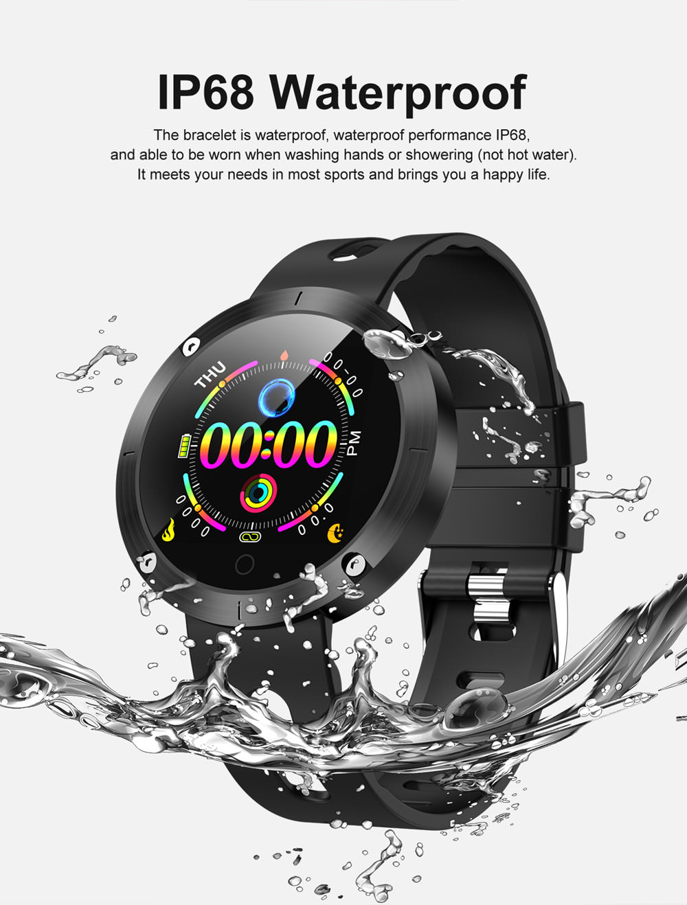 domino dm58 plus bluetooth smartwatch for sale