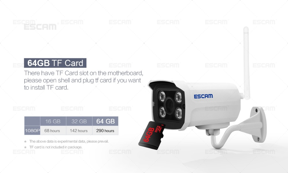 escam brick qd900 1080p ip camera online