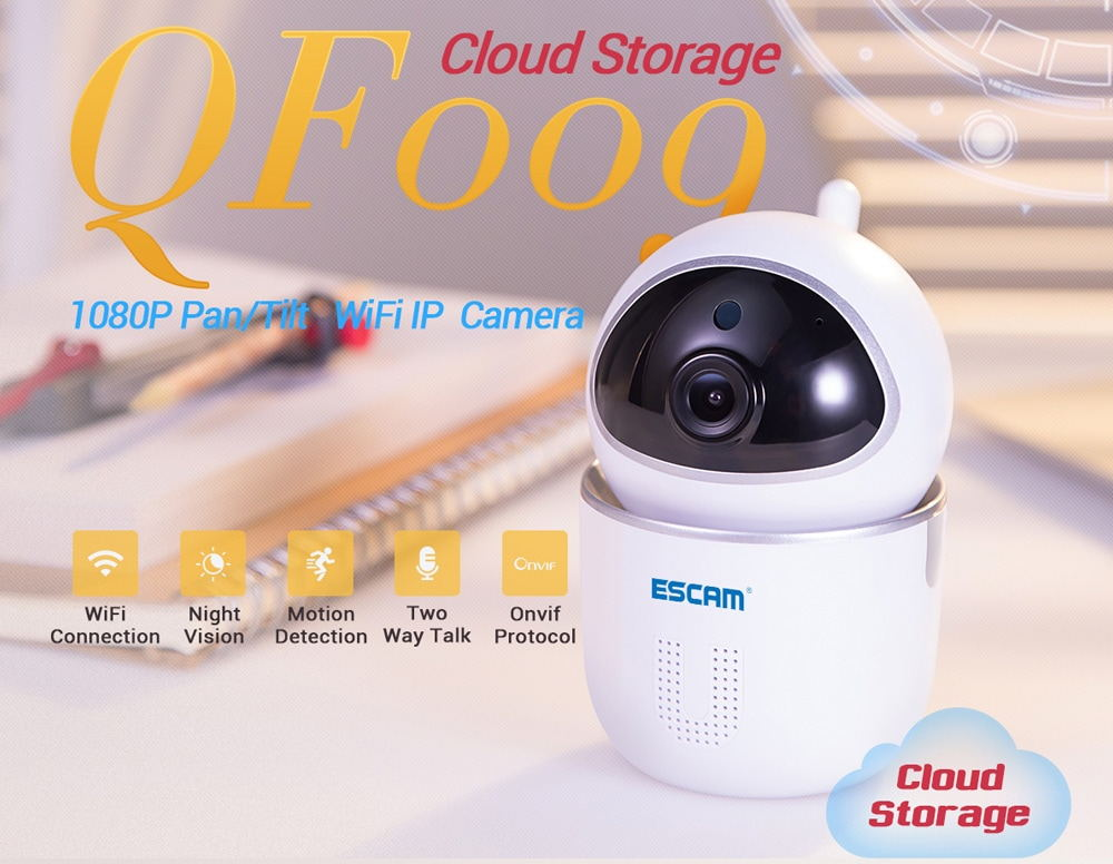 escam qf009 1080p wifi ip camera