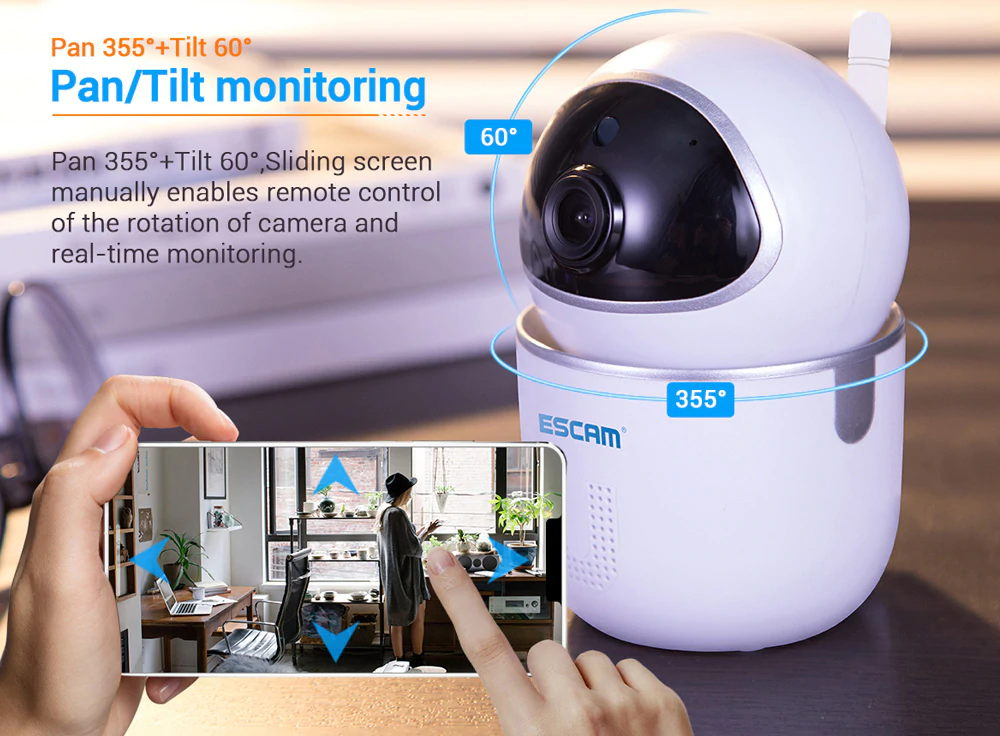 escam qf009 1080p wifi ip camera for sale