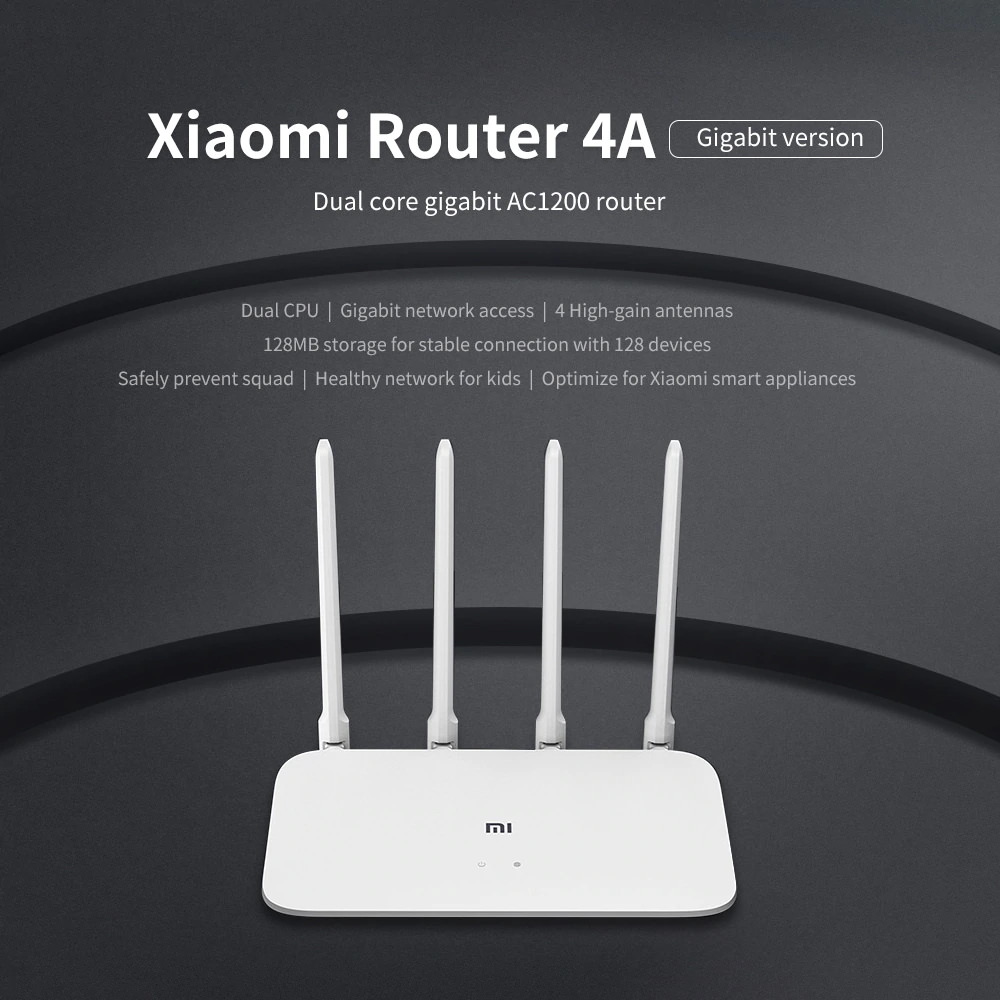 global xiaomi mi 4a dual band router 16mb/128mb