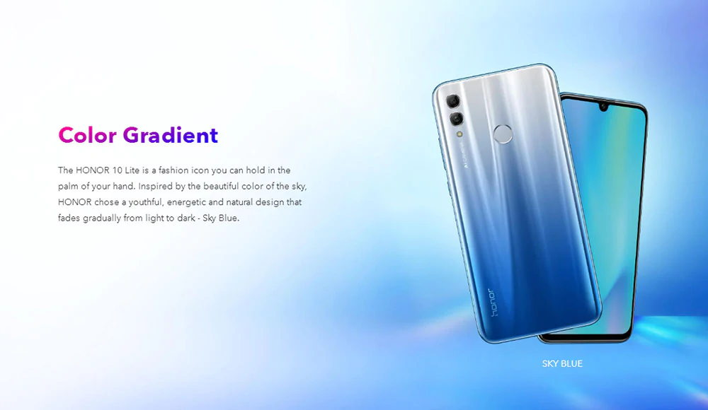 huawei honor 10 lite 4g smartphone