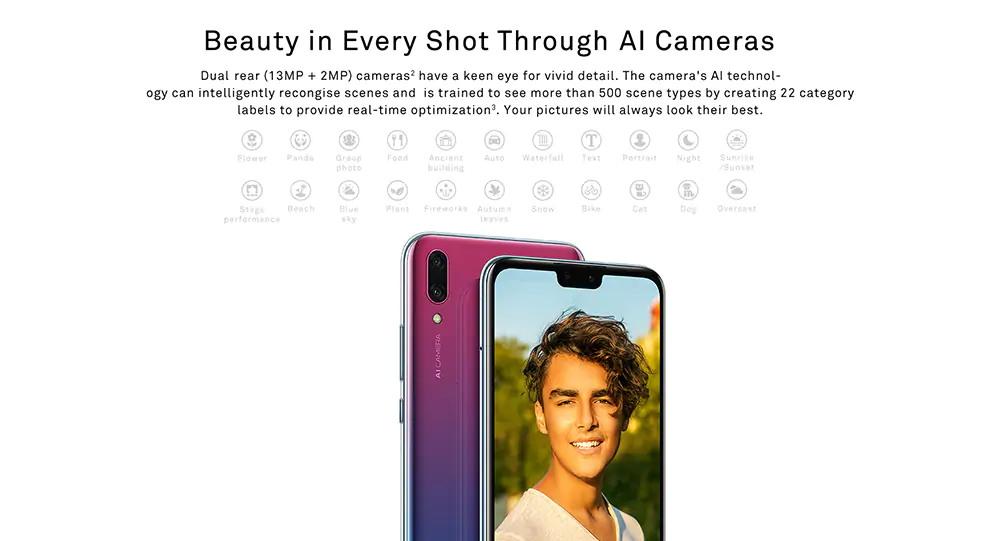 new huawei y9 2019 4g smartphone