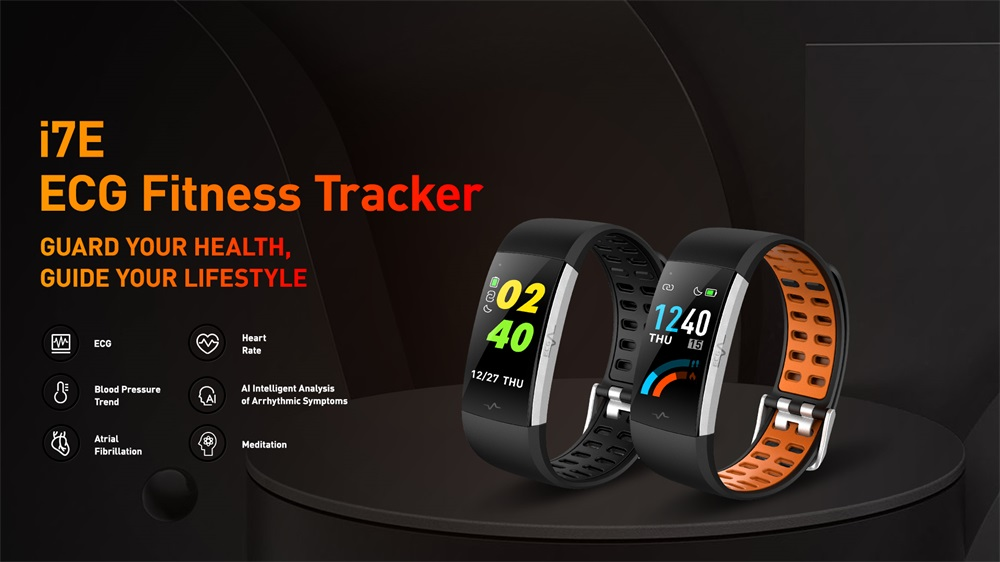 i7e ecg smart wristband fitness tracker