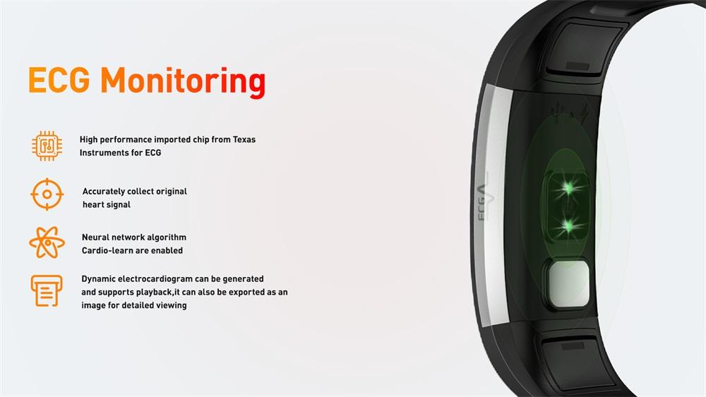 i7e ecg smart wristband