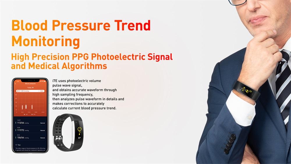 new i7e ecg smart wristband