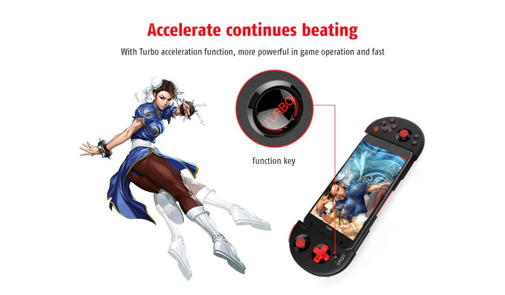new ipega pg-9087s bluetooth game controller