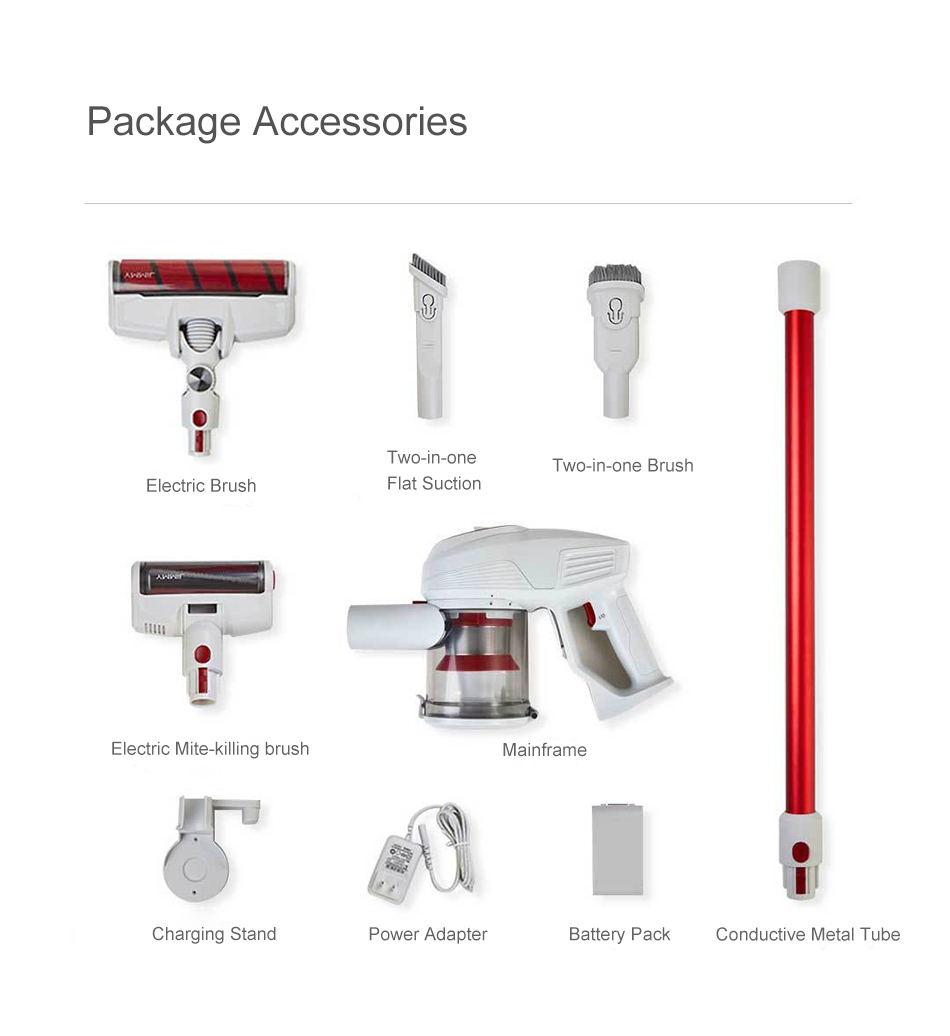 buy jimmy jv51 handheld wireless powerful vacuum cleaner