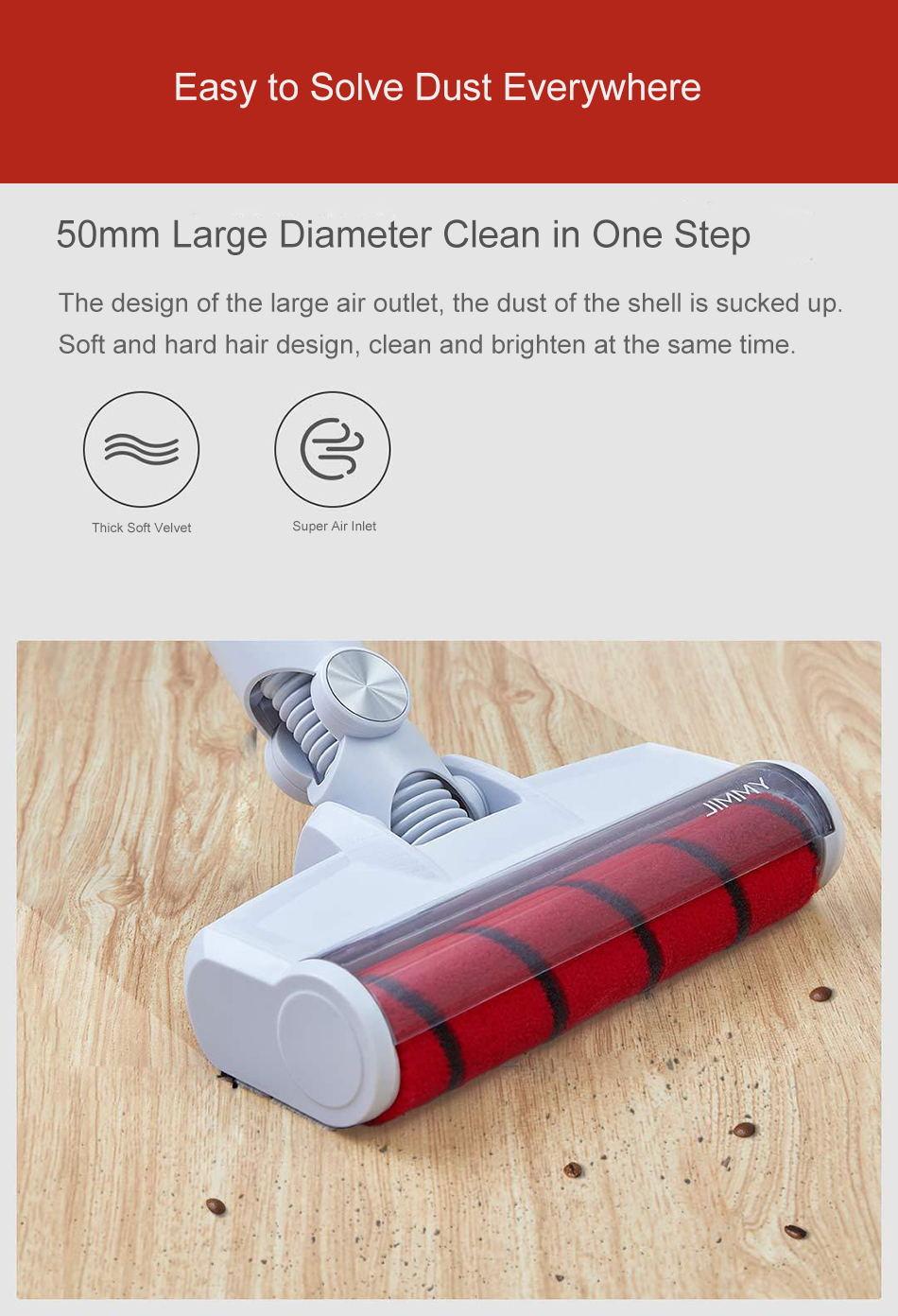 new jimmy jv51 handheld wireless vacuum cleaner