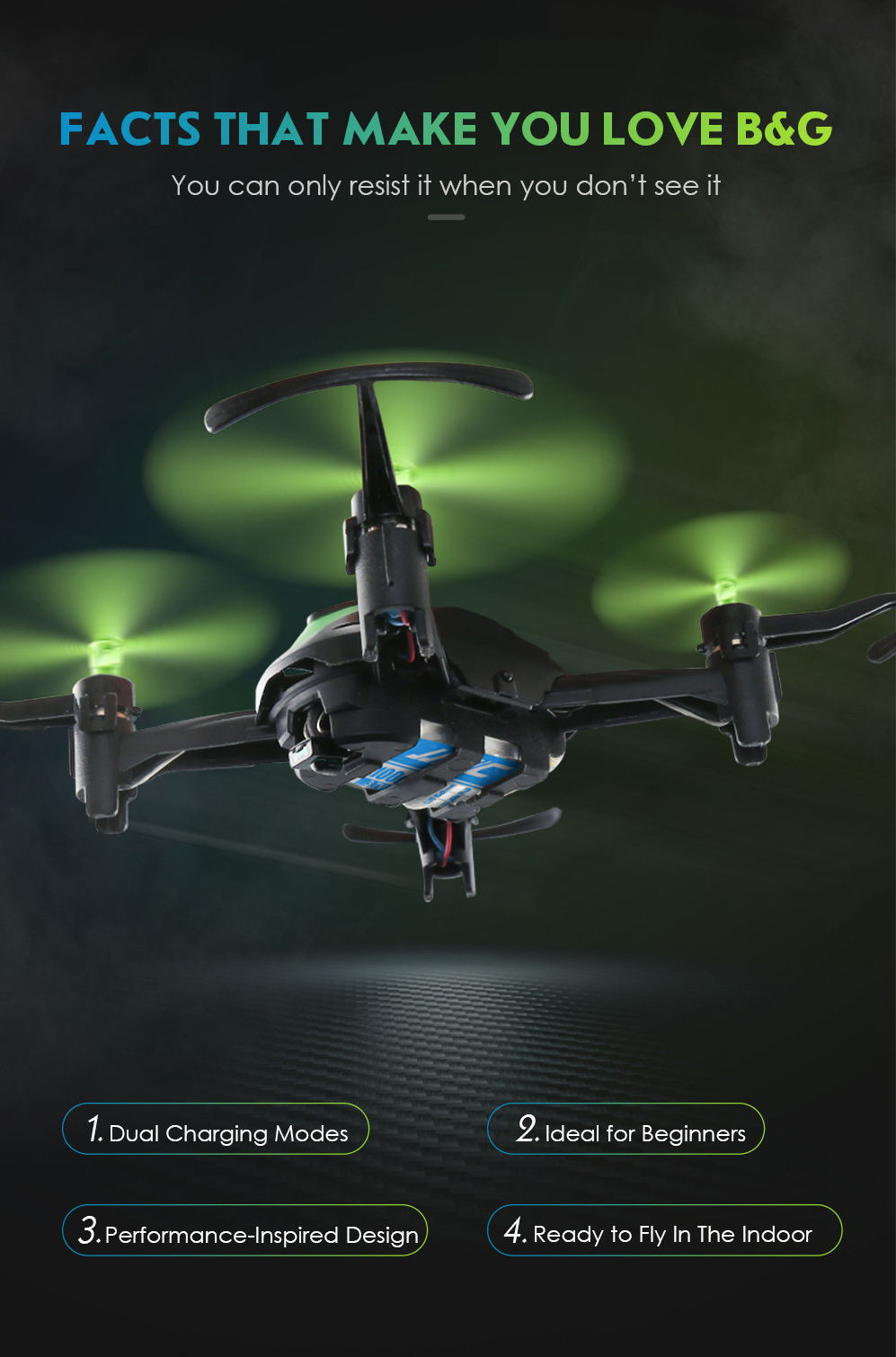 jjrc h48 4ch micro rc drone for sale