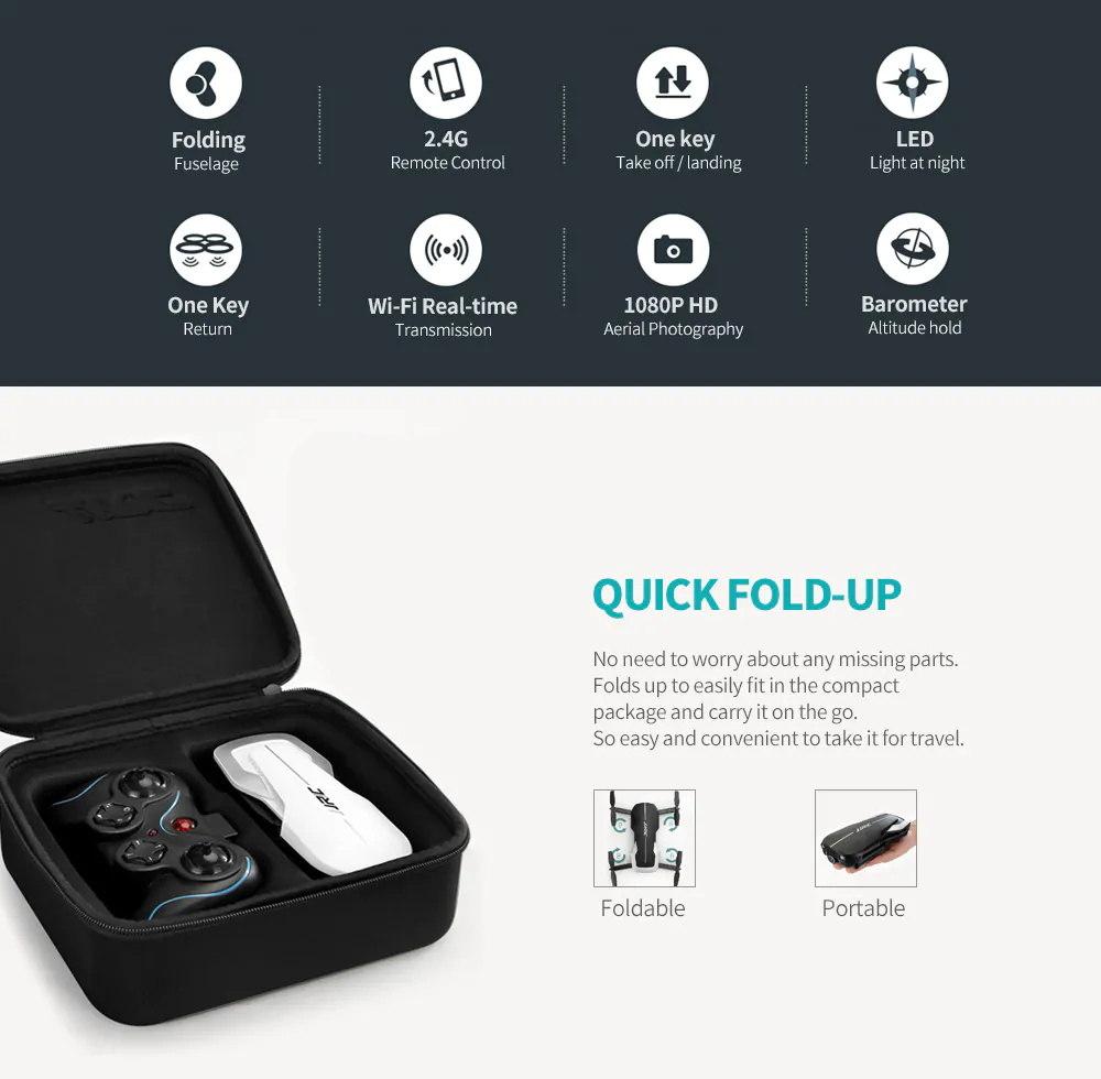buy jjrc h71 2.4g wifi rc drone