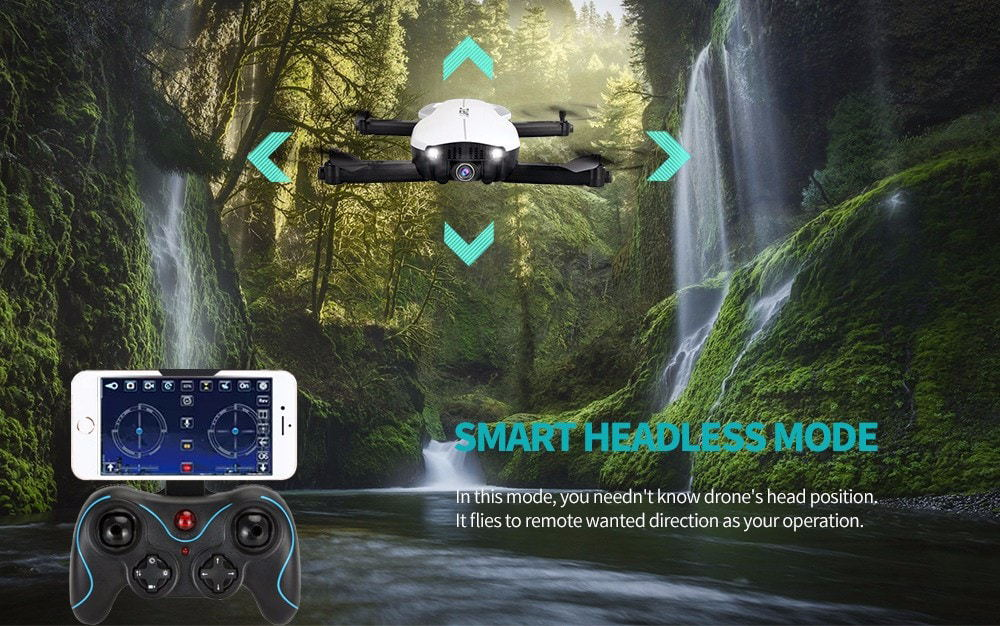 new jjrc h71 2.4g wifi rc drone