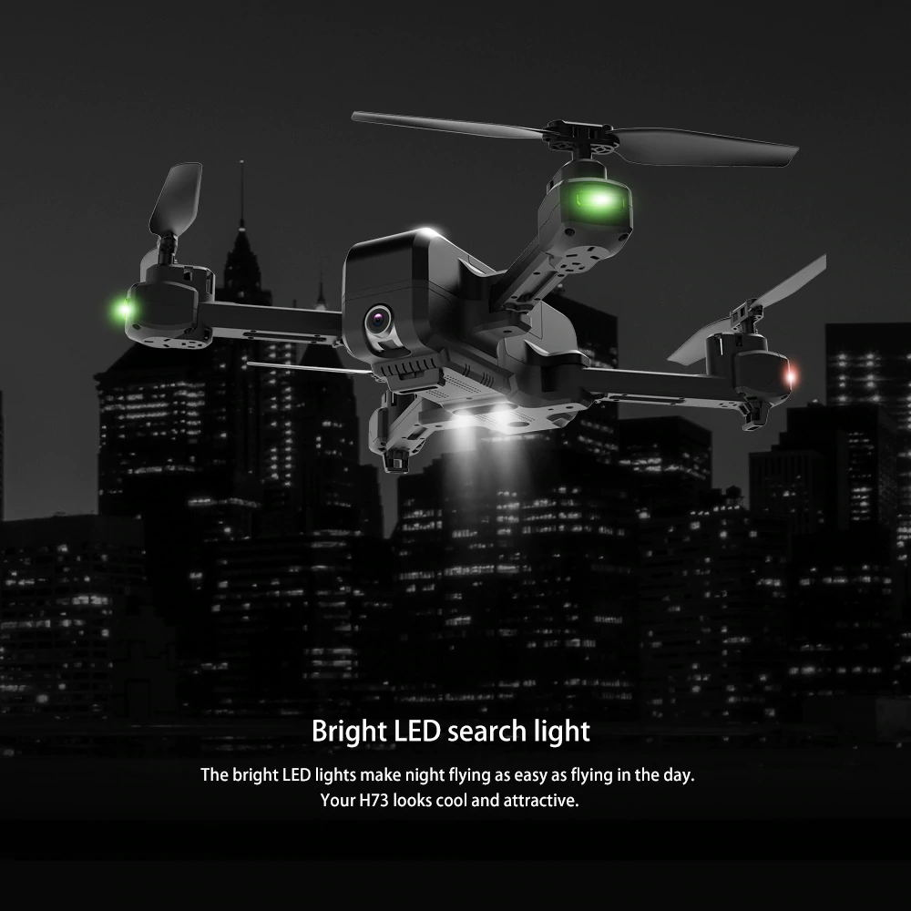 new jjrc h73 foldable wifi rc drone