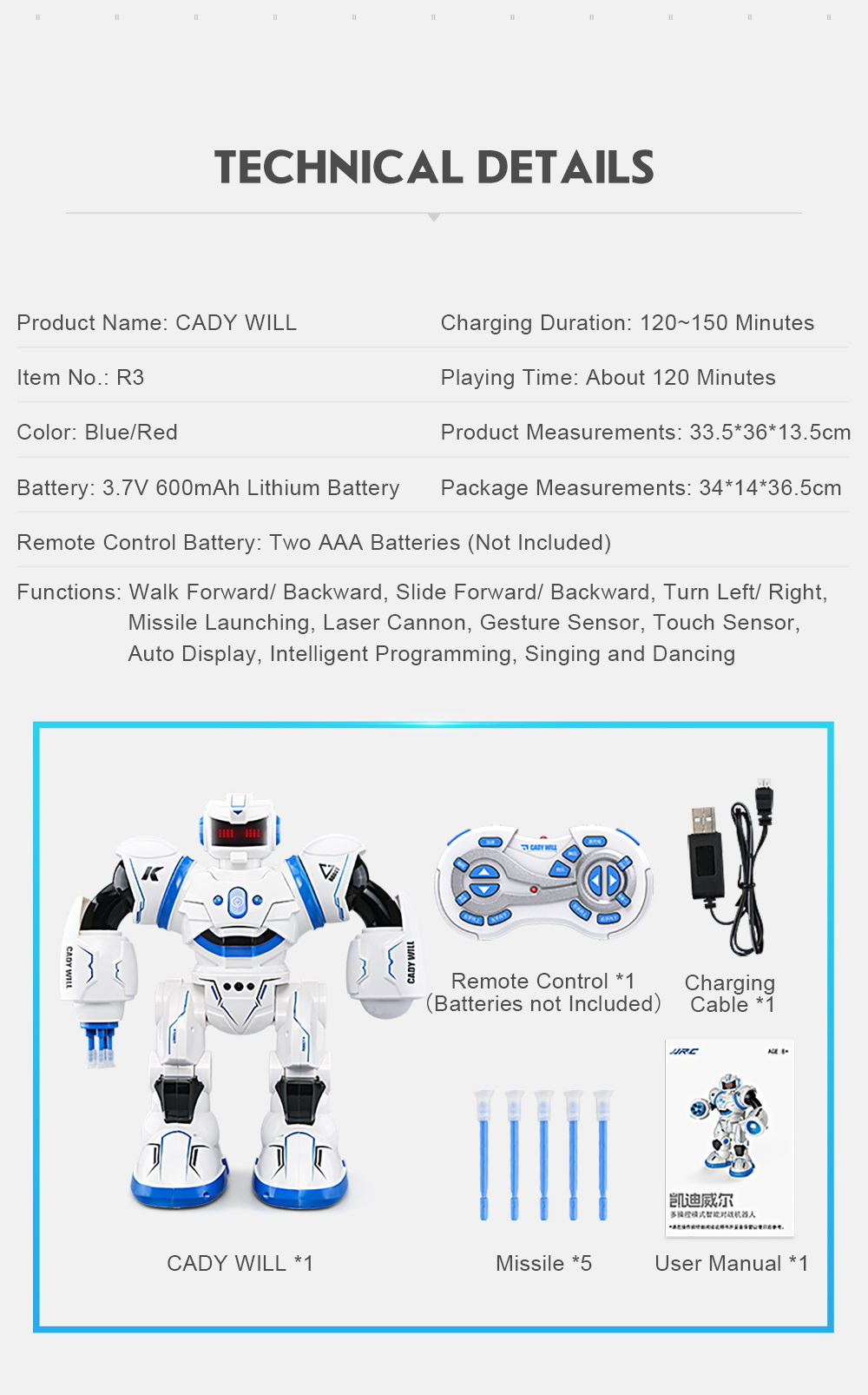 buy jjrc candy will robot