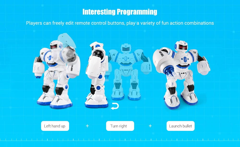 jjrc r3 2.4ghz candy will rc robot for sale