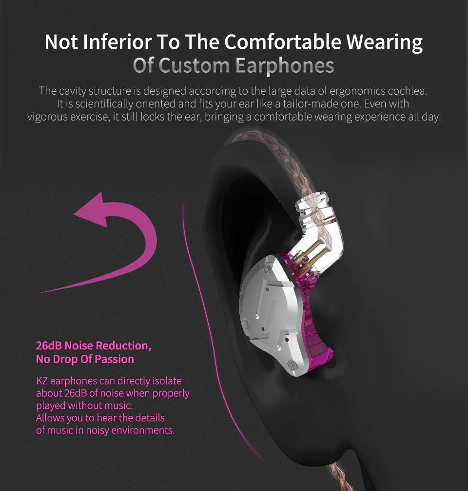 kz zs10 pro in-ear earphones for sale