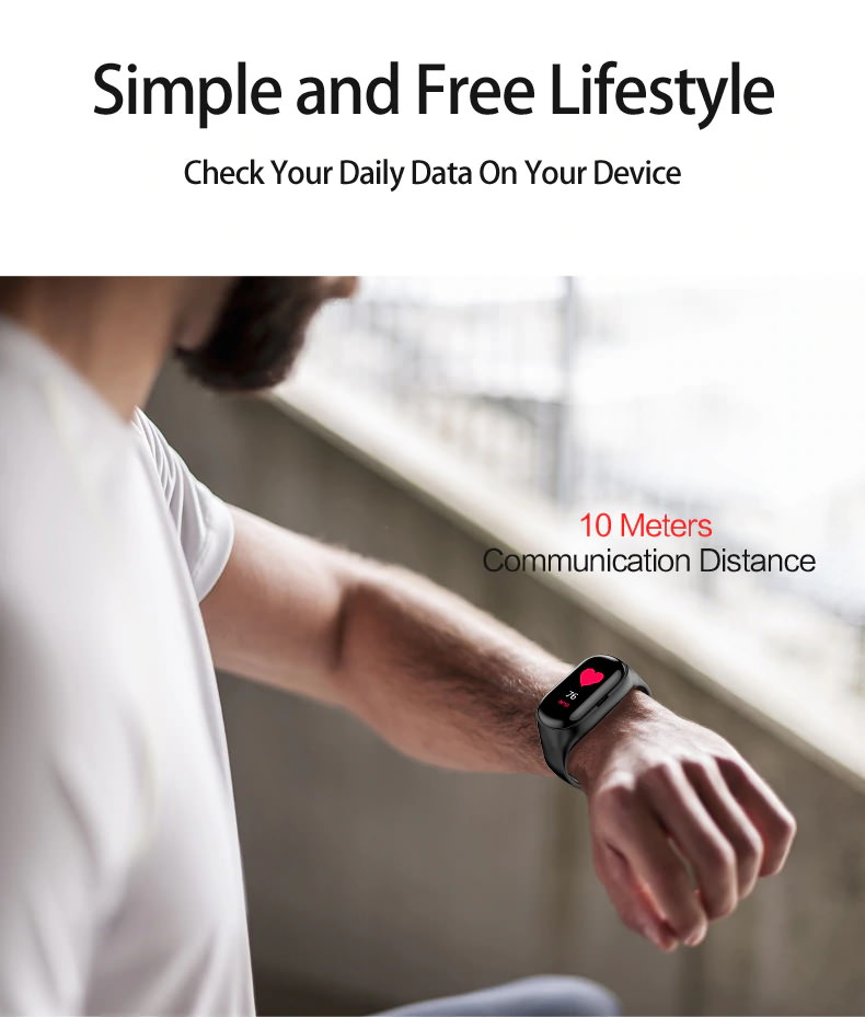 lemfo m1 ai wristband bluetooth earphones for sale