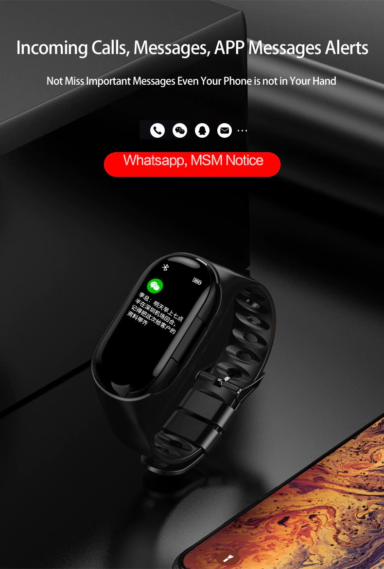 new lemfo m1 ai smart wristband