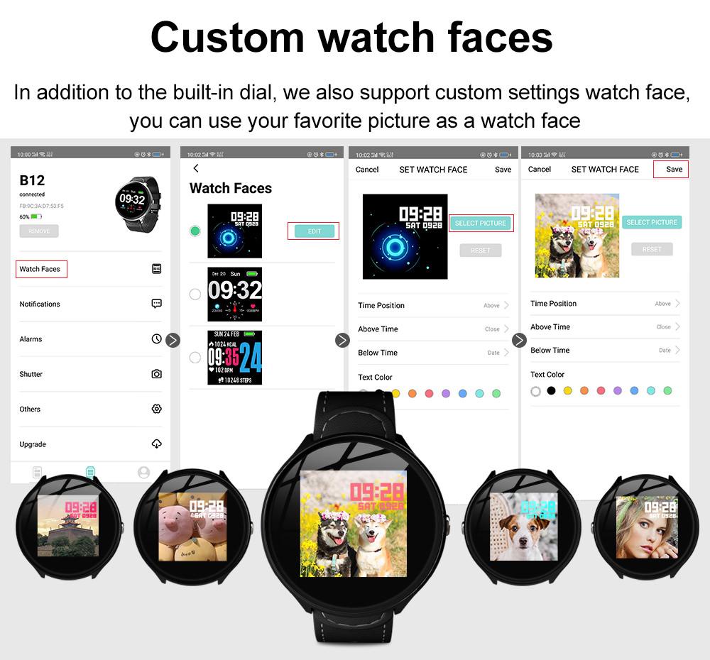 2019 lemfo v12 smartwatch