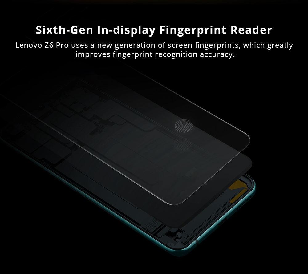 new lenovo z6 pro 4g smartphone 8gb 256gb