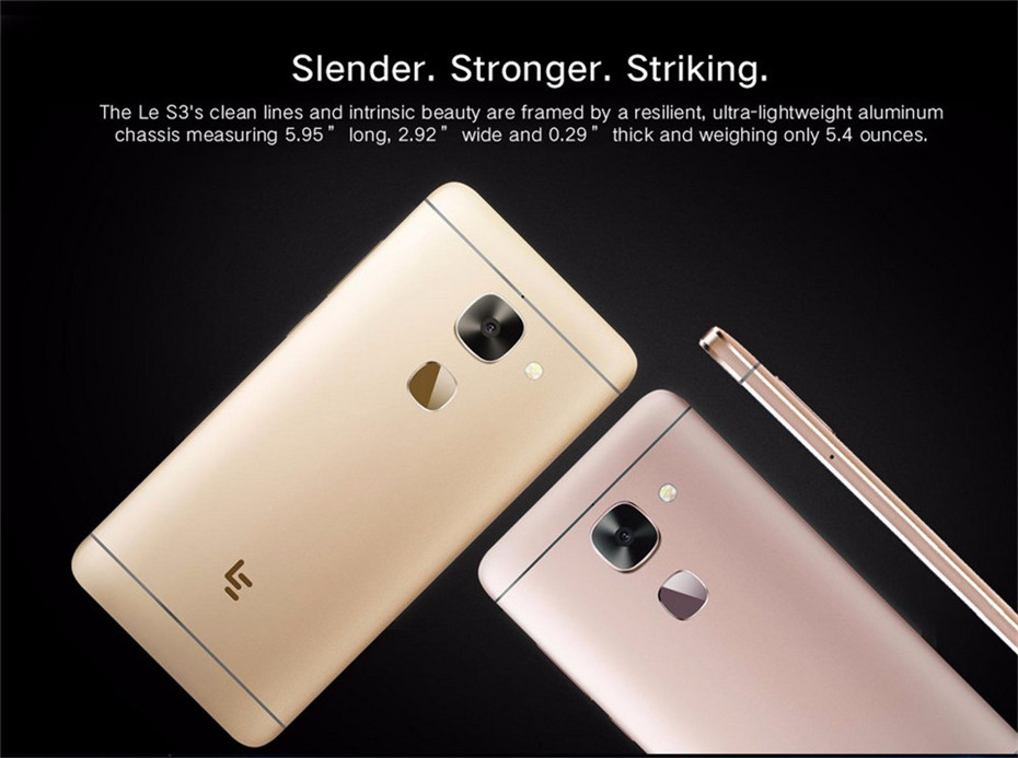 2019 letv leeco le s3 x626 4g smartphone