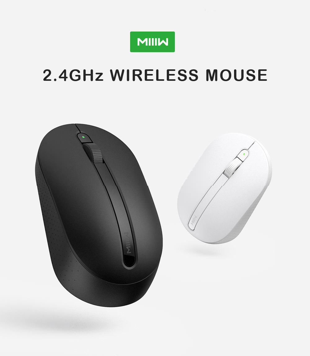 miiiw 2.4ghz wireless optical mouse