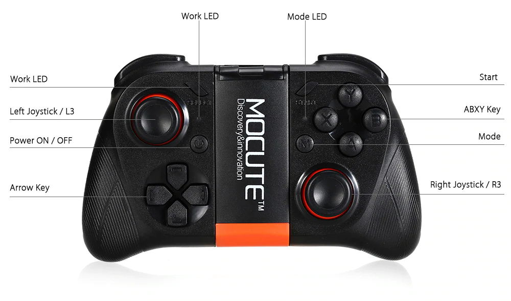mocute 050 bluetooth gamepad for sale