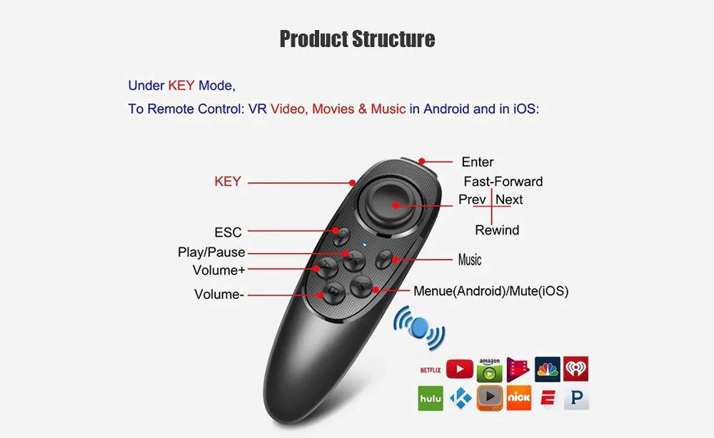 2019 mocute 052 wireless bluetooth gamepad