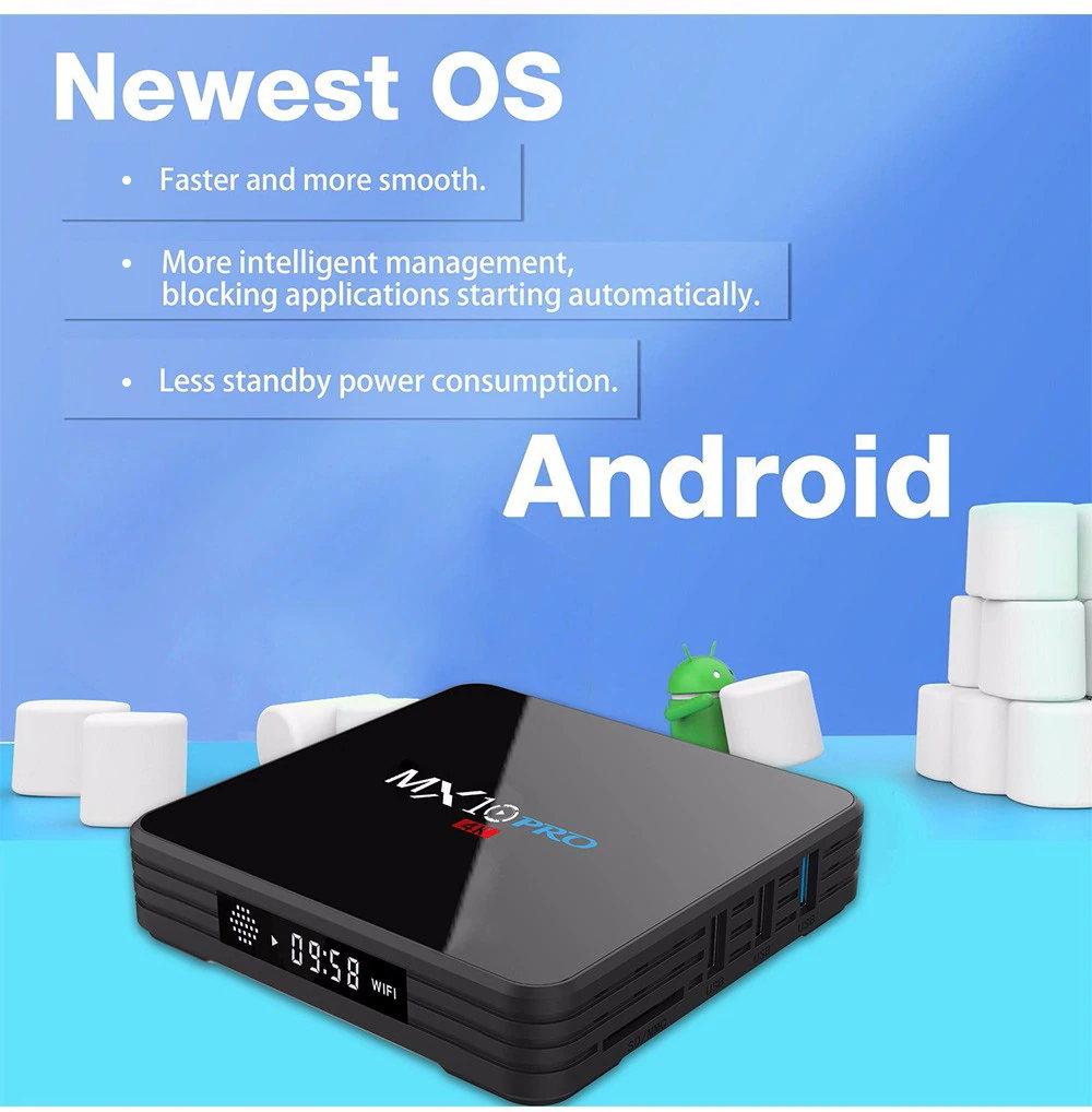 MX10 PRO 4K TV Box 4GB RAM 32GB ROM RK3328 Quad Core Android 8 1