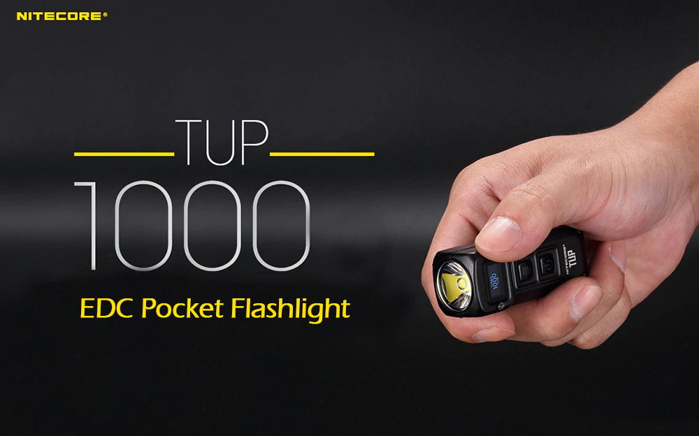 nitecore tup portable edc pocket flashlight