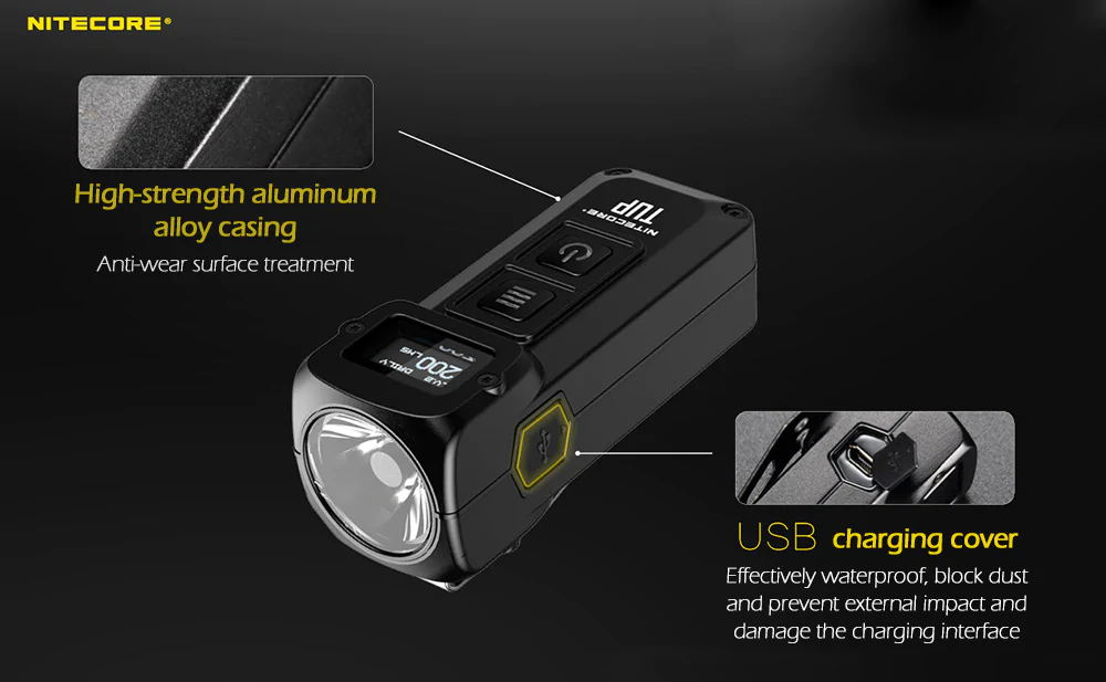 nitecore tup edc flashlight online