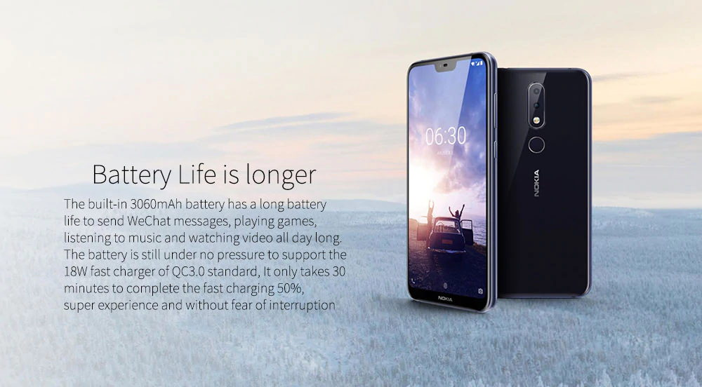 buy nokia x6 smartphone