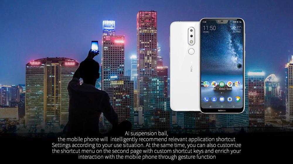 new nokia x6 smartphone 6gb/64gb