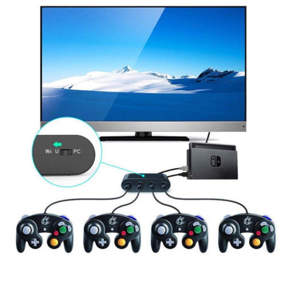 ngc game controller 4 port